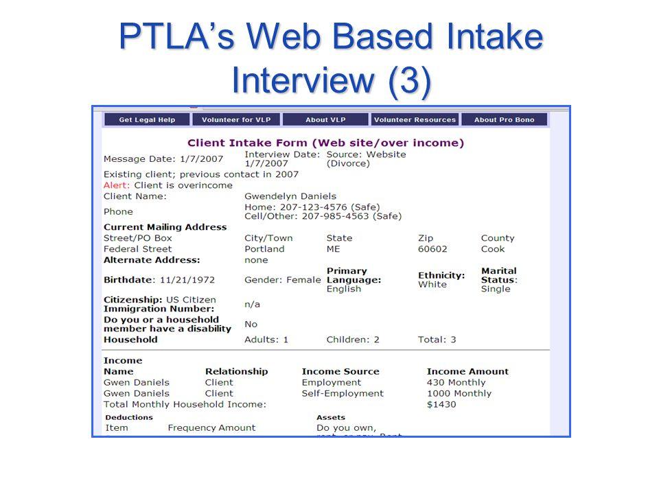 PTLAs Web Based Intake Interview (3)