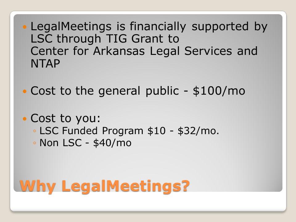 Why LegalMeetings.
