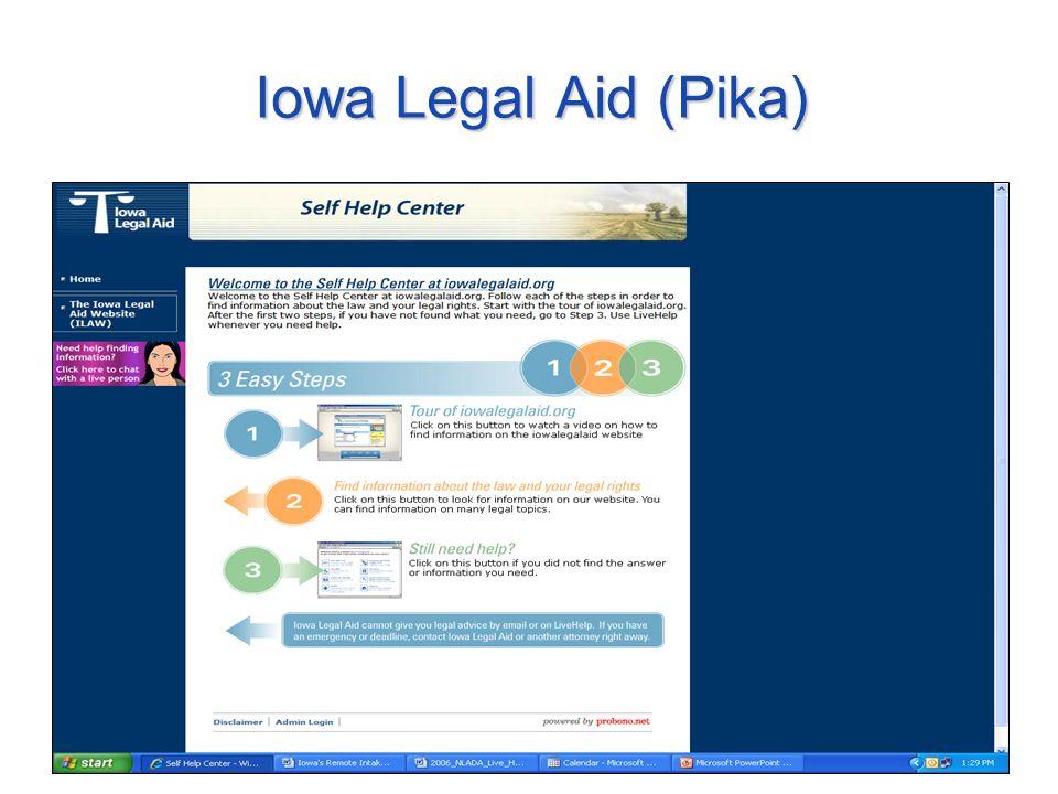 Iowa Legal Aid (Pika)