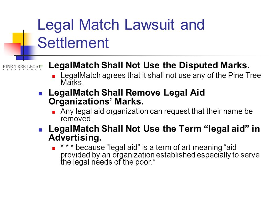 LegalMatch Shall Not Use the Disputed Marks.