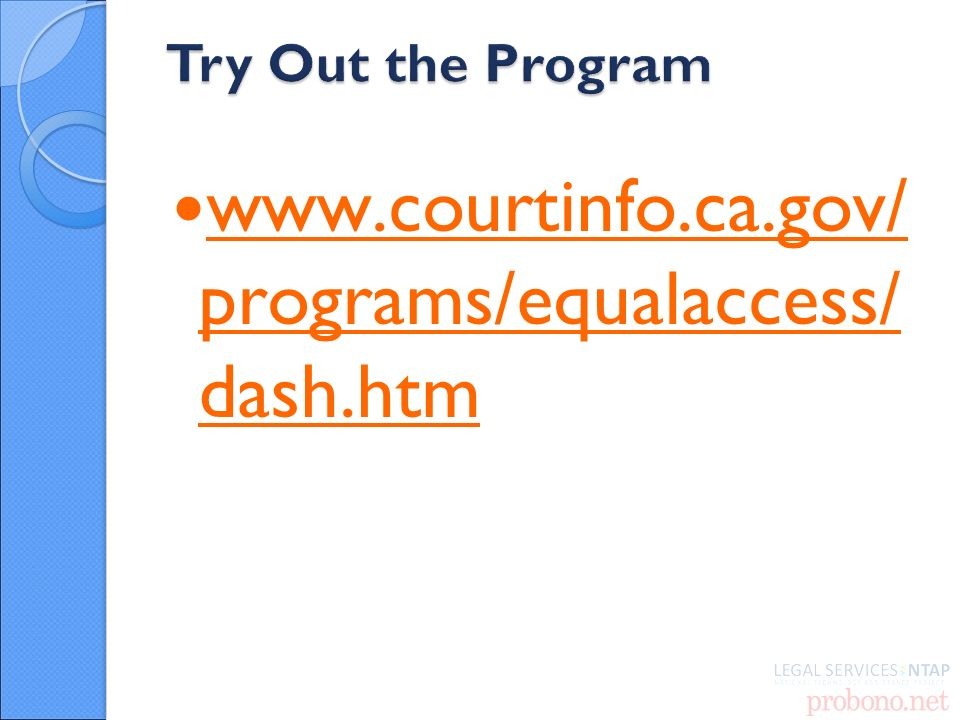 programs/equalaccess/ dash.htm   programs/equalaccess/ dash.htm