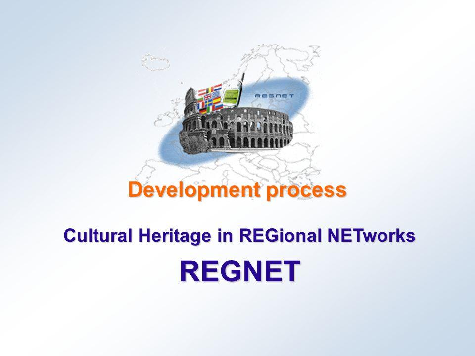 REGNET Development process