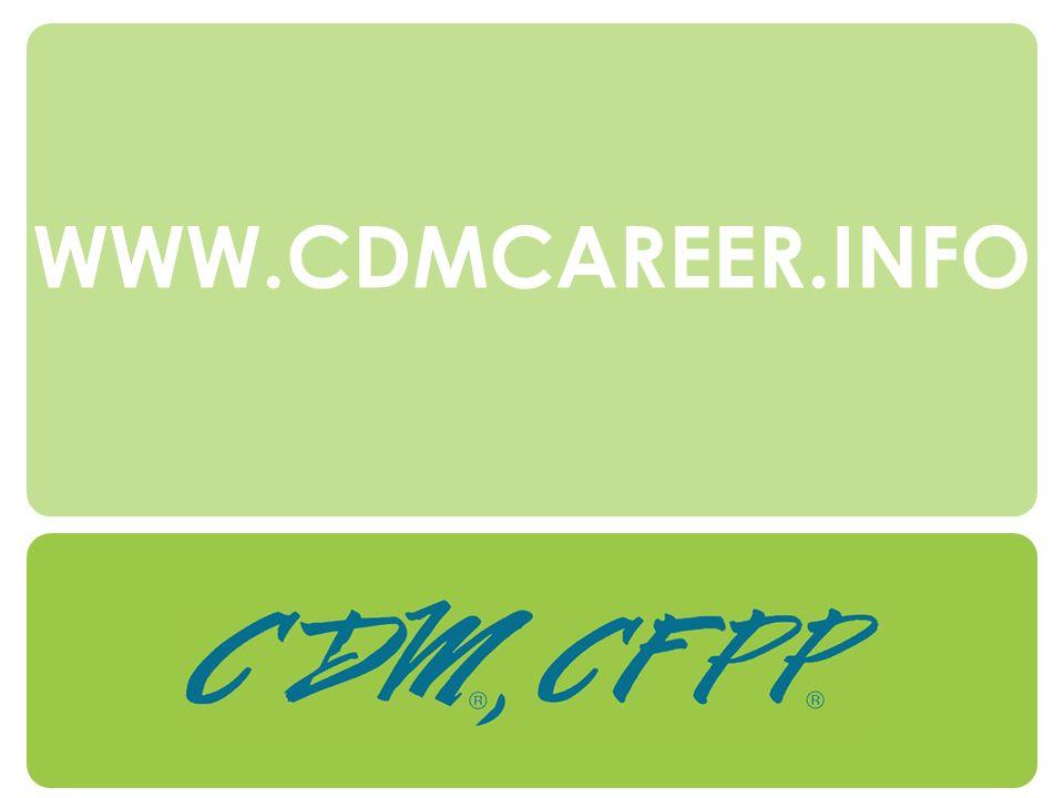 WWW.CDMCAREER.INFO