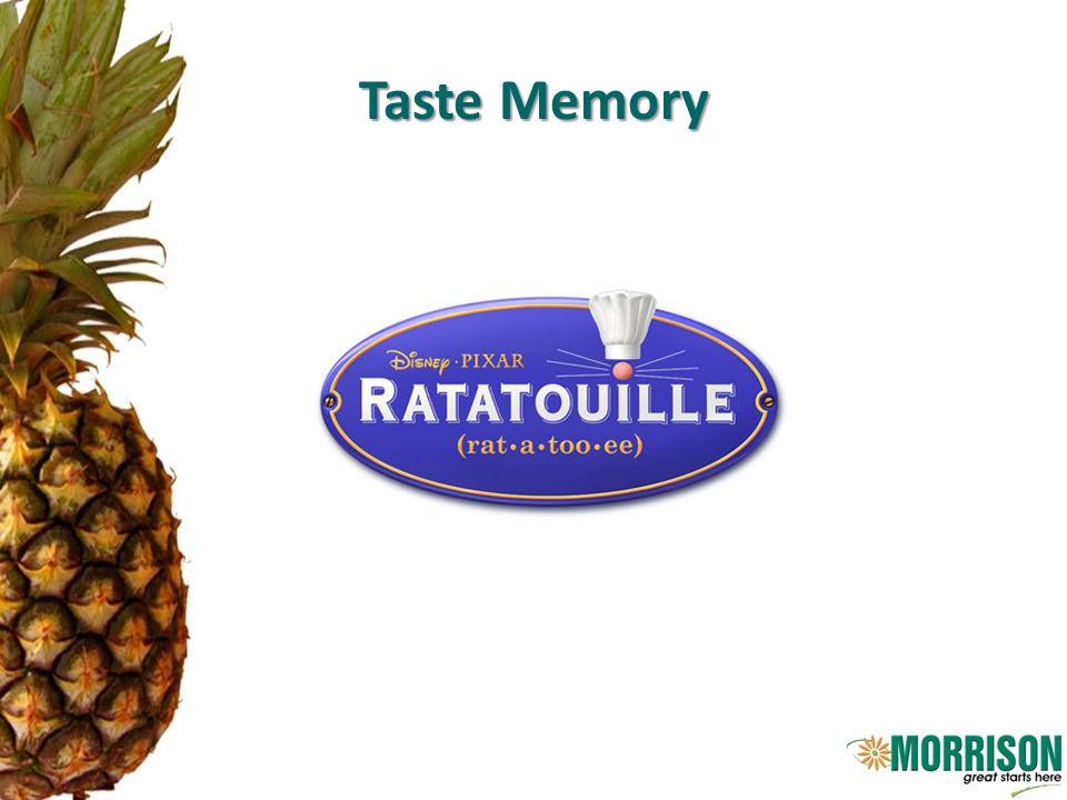 Taste Memory