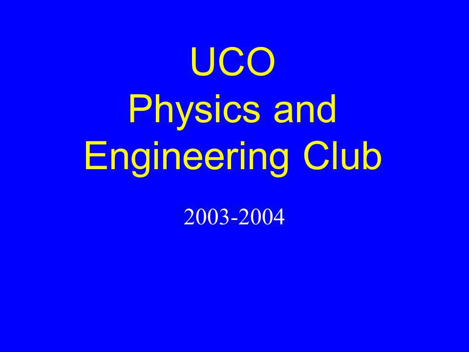 UCO Physics and Engineering Club