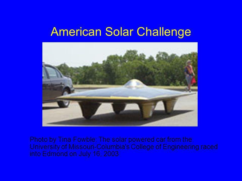 American Solar Challenge Cont.