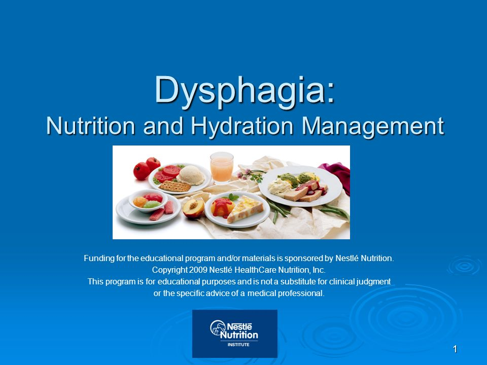 32 National Dysphagia Diet (NDD) National Dysphagia Diet (NDD) Task Force 2002 established guidelines for 3 levels of altered solid food textures and 3 altered viscosity liquid levels National Dysphagia Diet