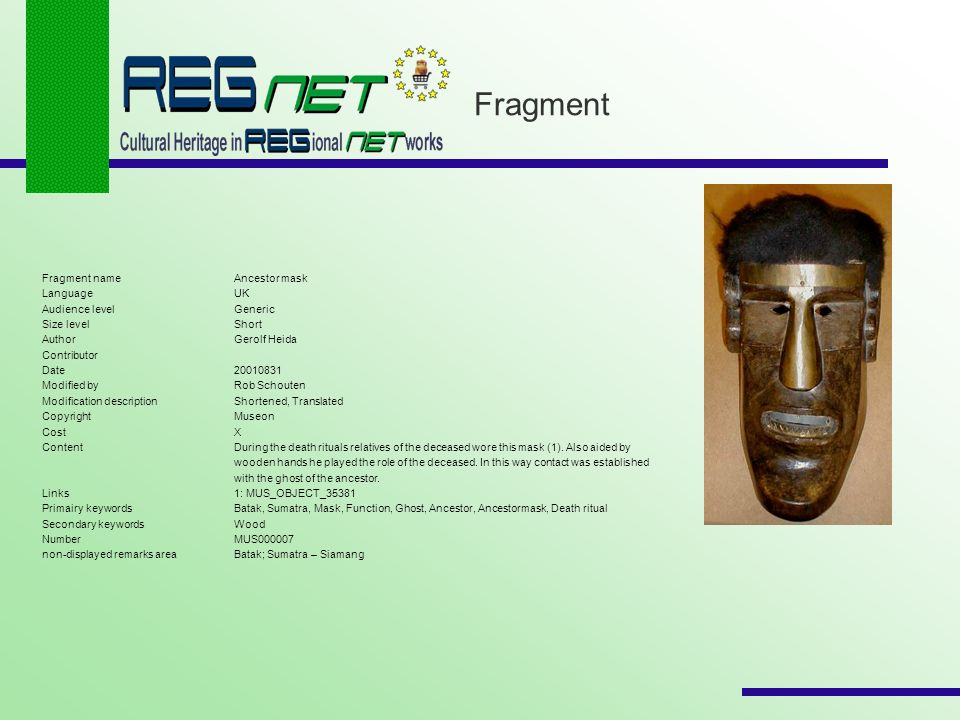 Fragment Fragment nameAncestor mask LanguageUK Audience levelGeneric Size levelShort AuthorGerolf Heida Contributor Date20010831 Modified byRob Schout