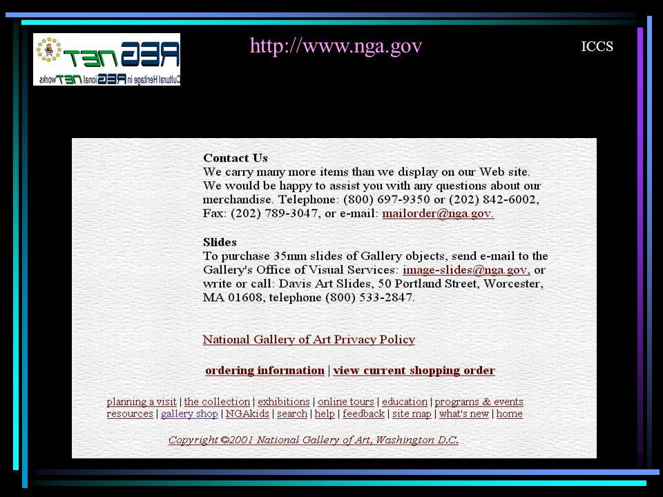 http://www.nga.gov ICCS