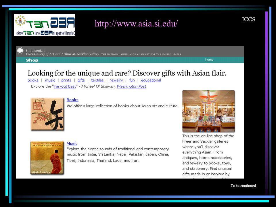 ICCS http://www.asia.si.edu/