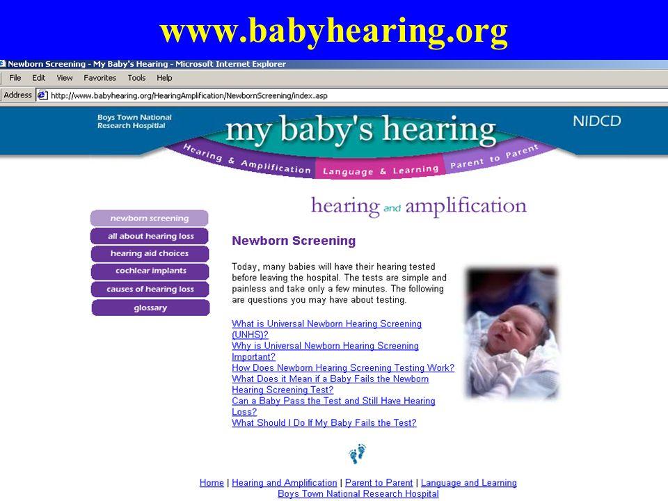 www.babyhearing.org