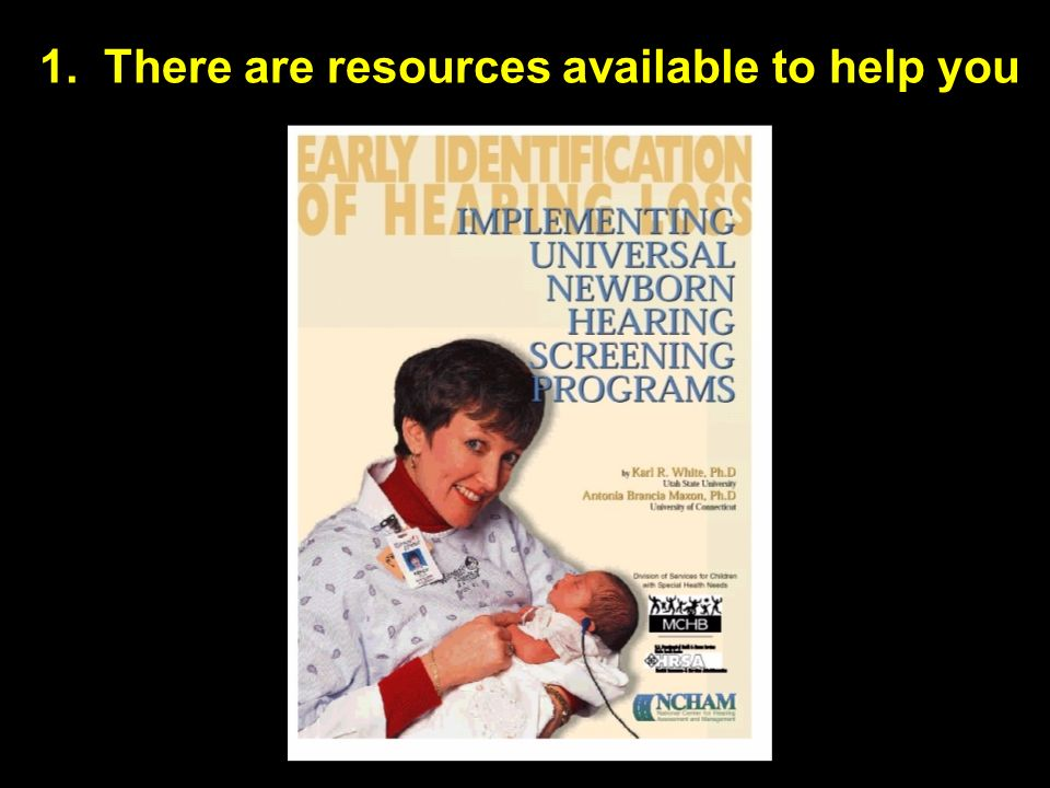 1. There are resources available to help you