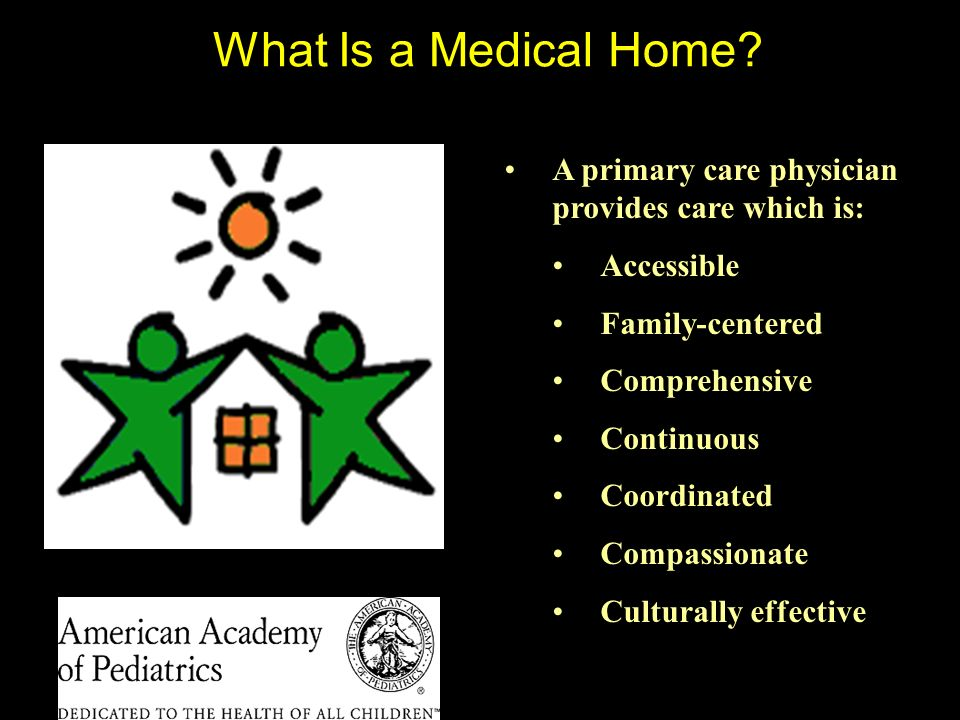 What Is a Medical Home.