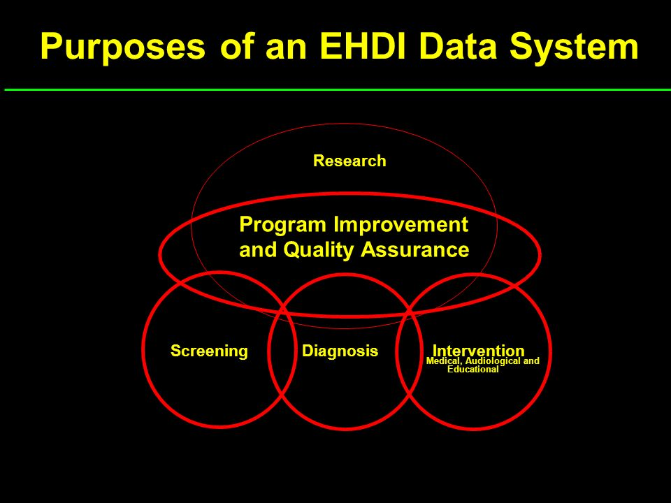 Iowa EHDI System State Department of Health Hospital 1 Hospital 2..