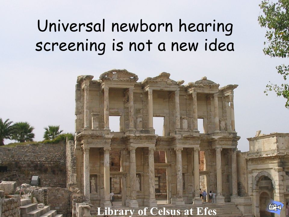 Implementing Effective Newborn Hearing Screening Programs Then a miracle occurs out Start Good work, but I think we might need a little more detail right here Diagnosis Early Intervention Medical Home Data Management Program Evaluation Family Support Universal Newborn Hearing Screening