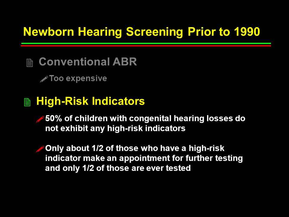 Watkins, 1987 Comparisons made among 3 groups of bilaterally hearing-impaired children (n = 23 in each group) Children matched on hearing severity (PTA ~ 85 dBHL), presence of other handicaps, and analysis of covariance used to adjust for age at post test, age of mother, SES, and number of childhood middle ear infections.
