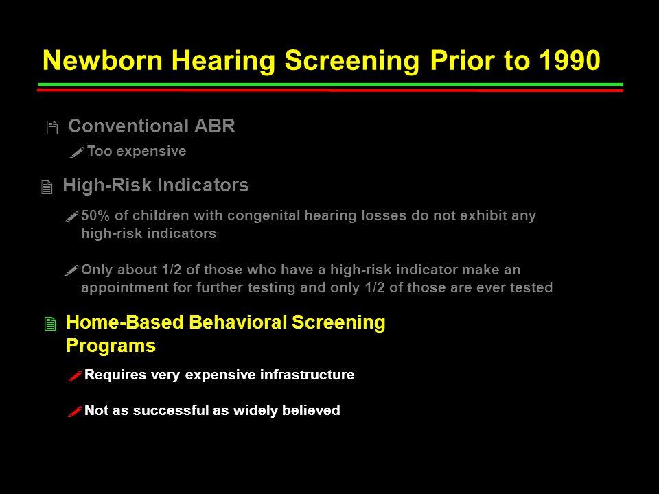 Accuracy of OAE-Based Newborn Hearing Screening Plinkert et al.