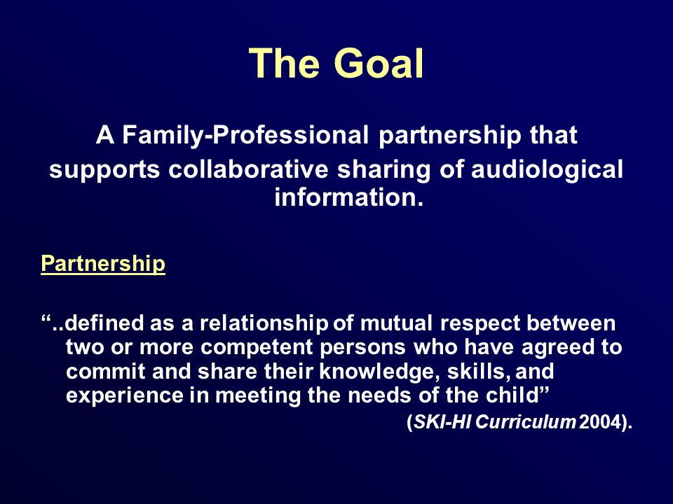 Challenges to Collaborative Sharing of Audiological Data Audiological information is increasingly complex.