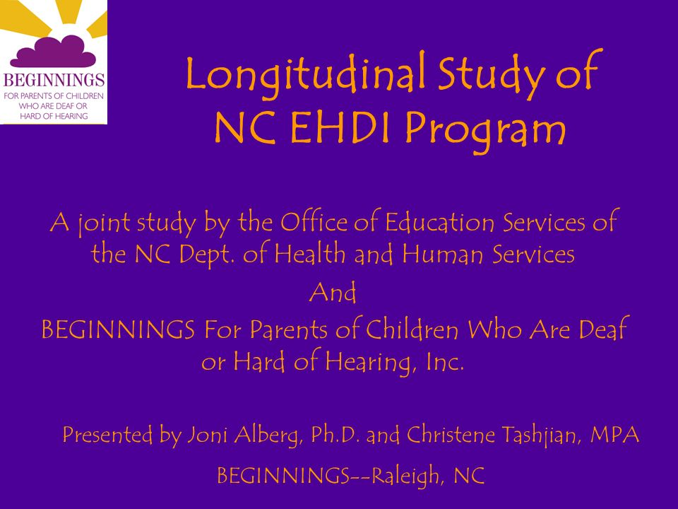 Methodology Design Team developed data collection forms BEGINNINGS created parent release forms, FAQs, abstract; translated into Spanish BEGINNINGS staff, EI staff, CHAC were trained to use the forms