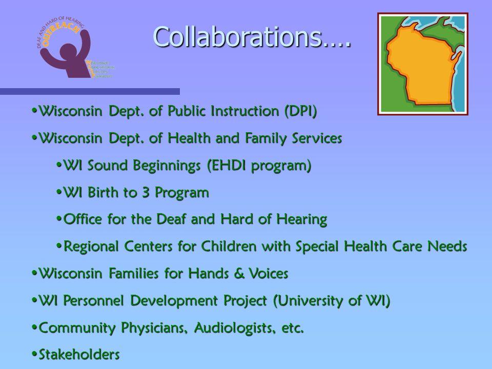Wisconsin Dept. of Public Instruction (DPI)Wisconsin Dept.