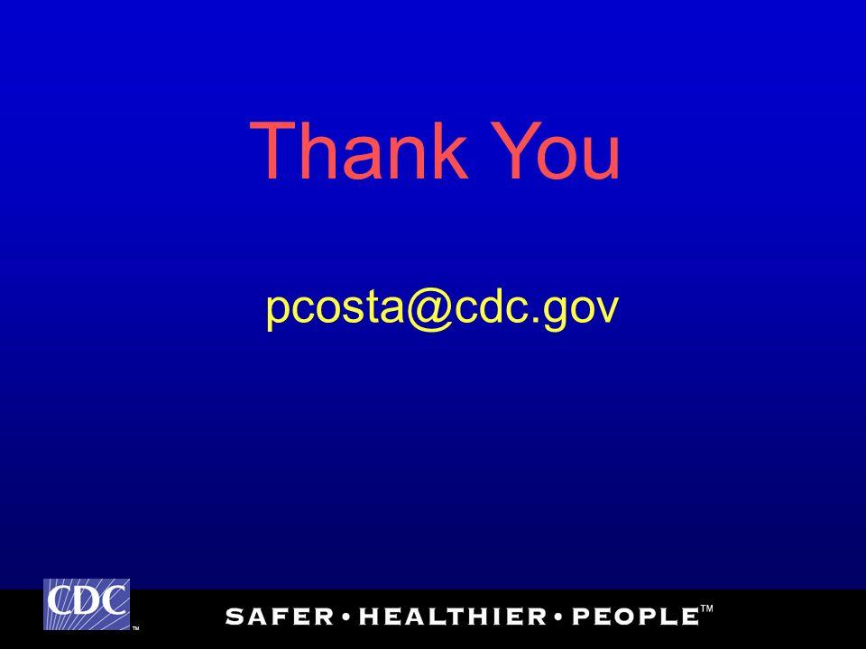 TM Thank You pcosta@cdc.gov