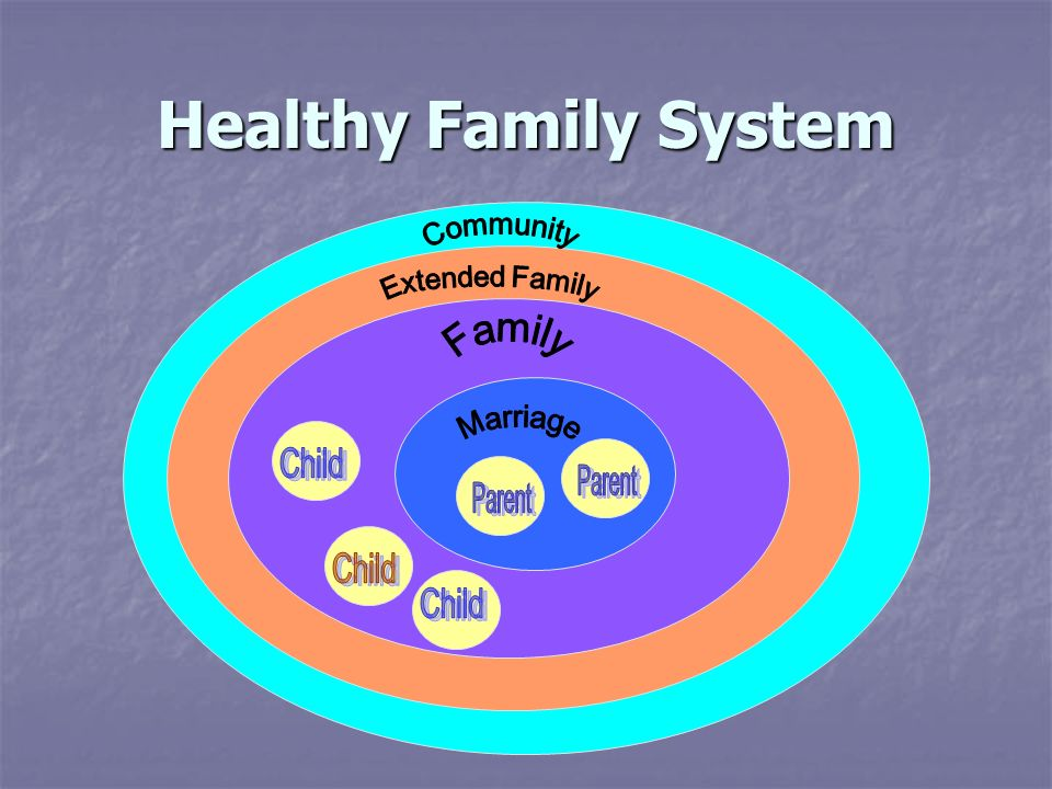 Healthy Family System