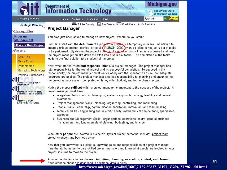 TM 31 http://www.michigan.gov/dit/0,1607,7-139-30637_31101_31294_31296---,00.html