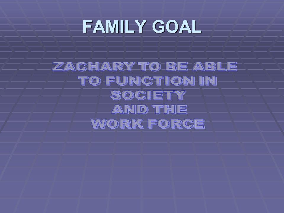 FAMILY GOAL