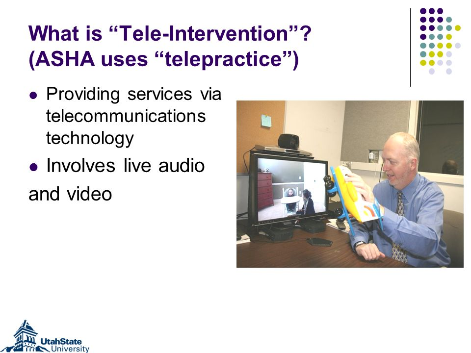 What is Tele-Intervention.