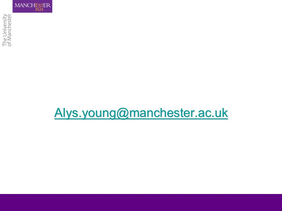 Alys.young@manchester.ac.uk