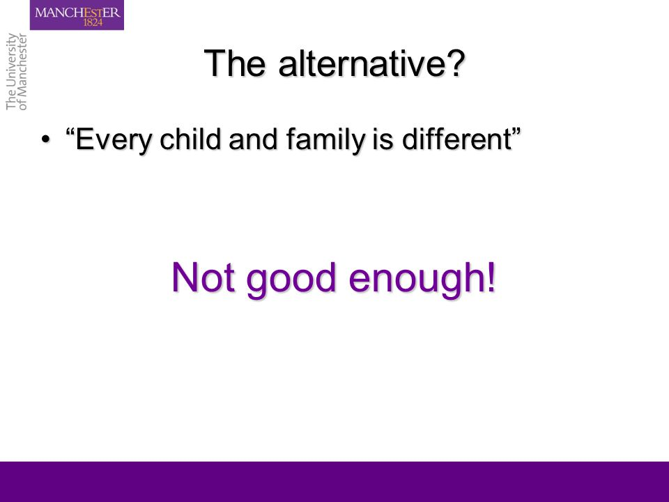 Some thoughts on family realities Why is it important to think about what stays the same for families?Why is it important to think about what stays the same for families.