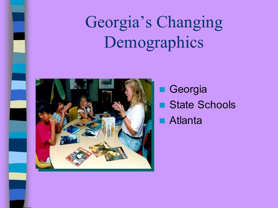 Services for Deaf/HH Children Demographic trends School Age Population Birth to Three Population Service and Program Options Moving toward Exemplary