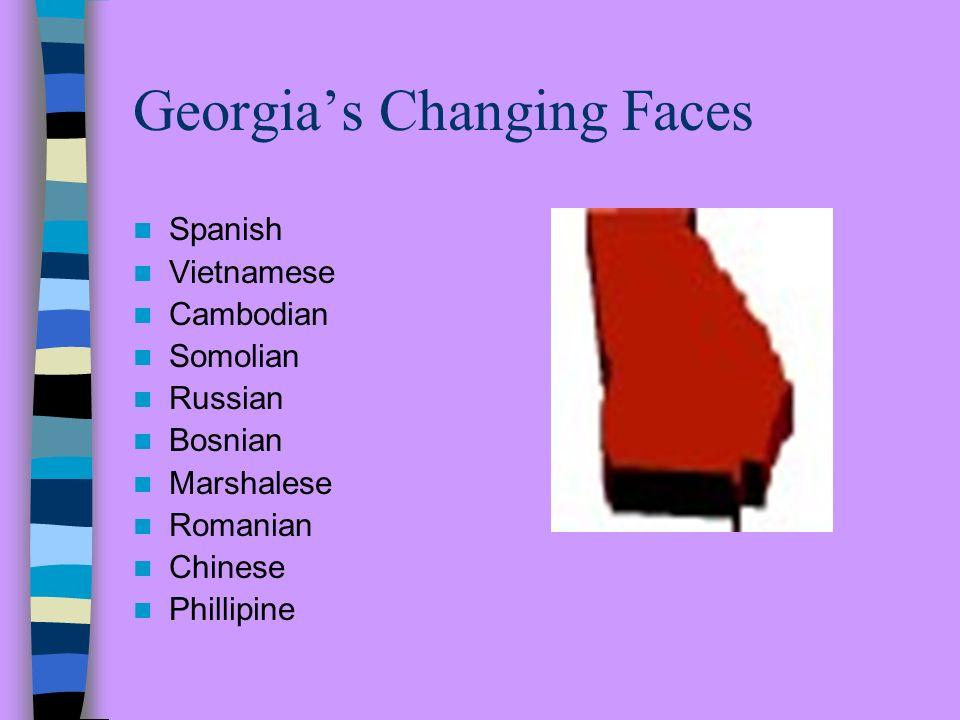 Georgias Changing Demographics Georgia State Schools Atlanta