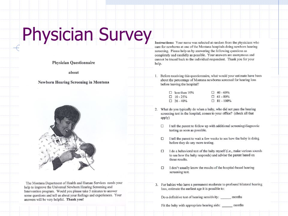 Physician Survey