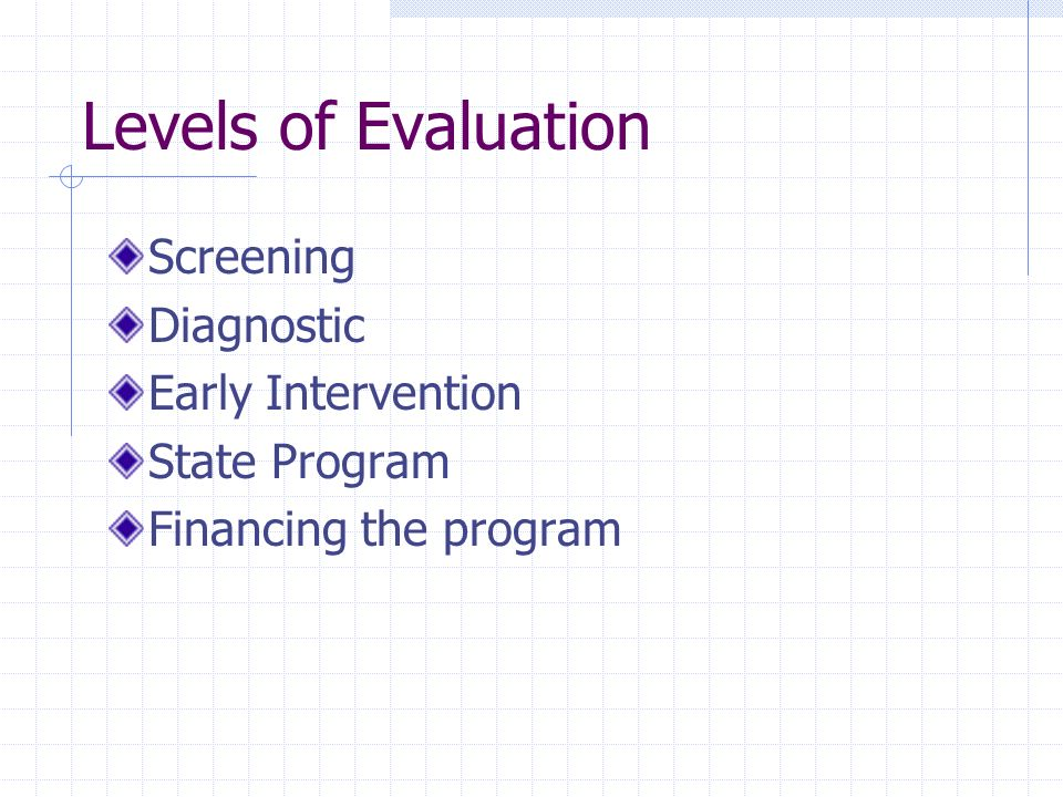 Summary Evaluation takes time and effort Must be well planned