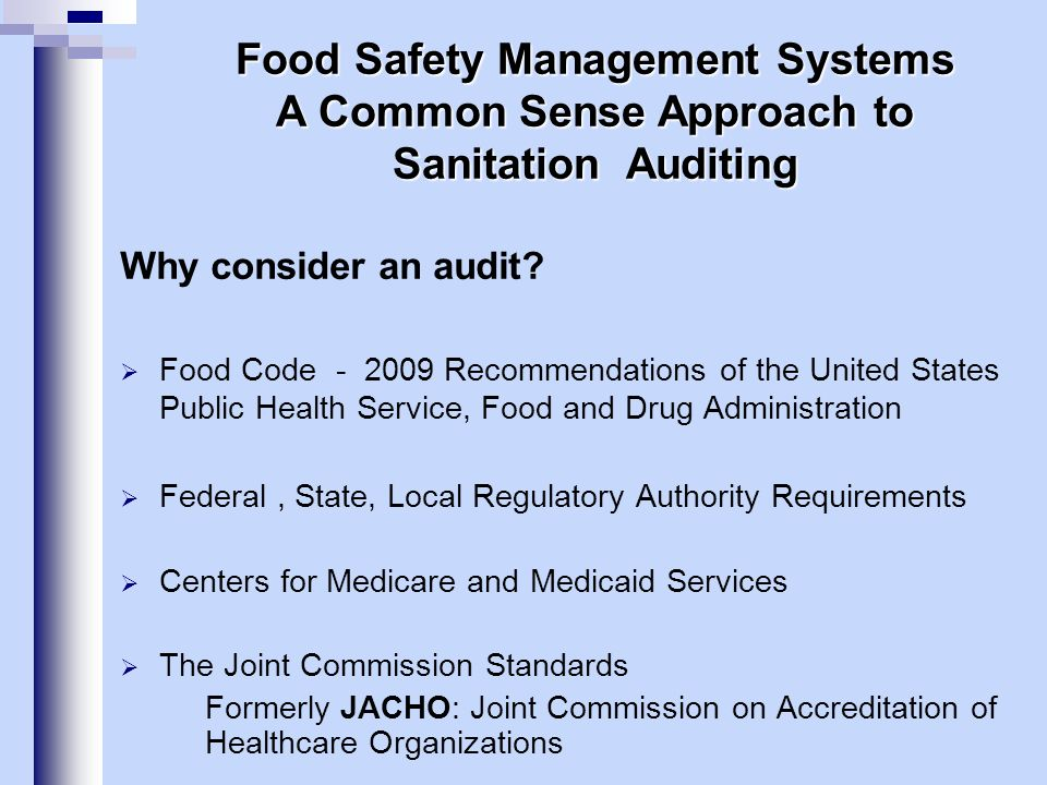 Auditing System Foundation How Does HACCP Work in Food Production.