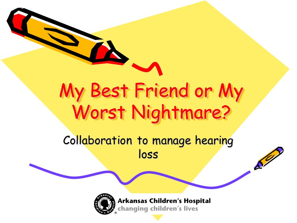 My Best Friend or My Worst Nightmare? Collaboration to manage hearing loss