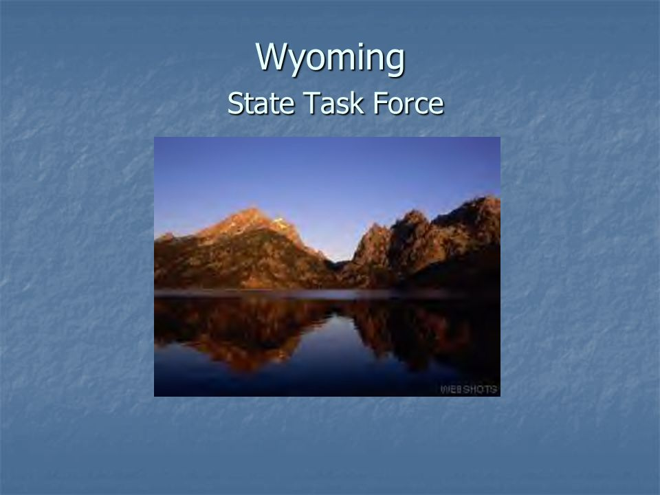Wyoming State Task Force