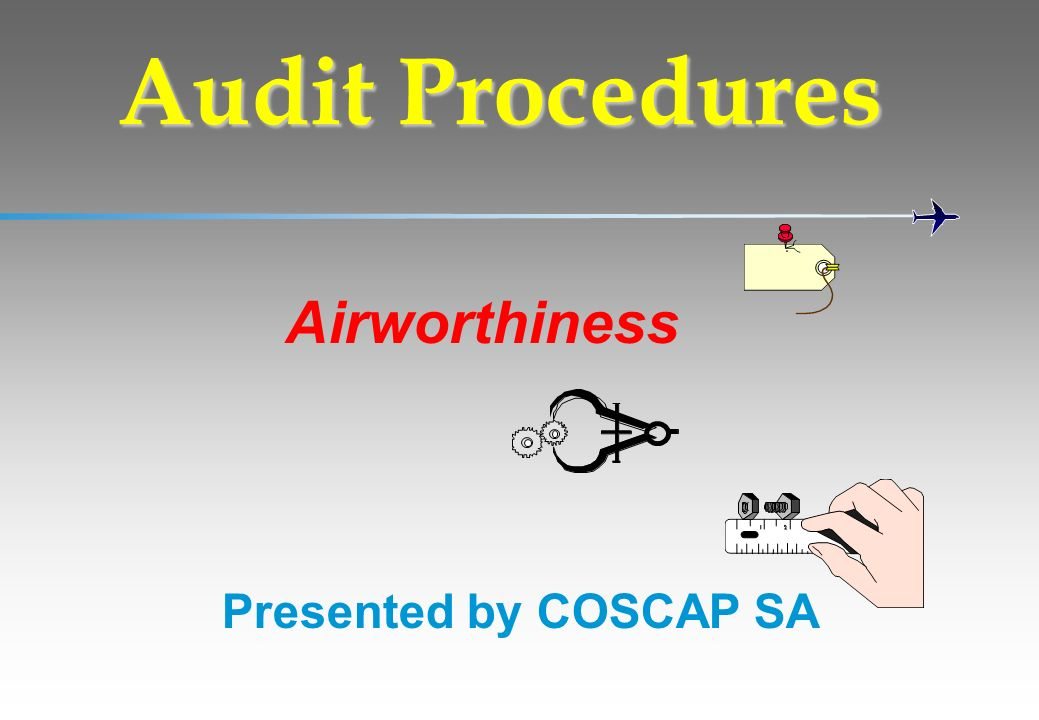 Airworthiness Audit Procedures Presented by COSCAP SA