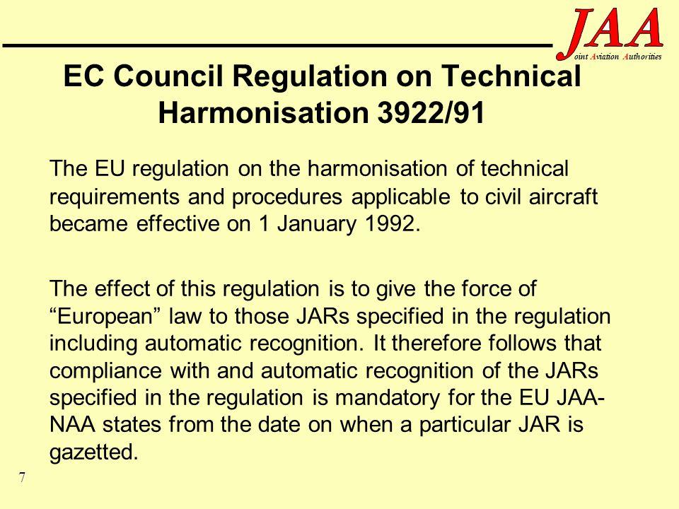 28 ointAviationAuthorities Bilateral Aviation Safety Agreement (BASA) 1.