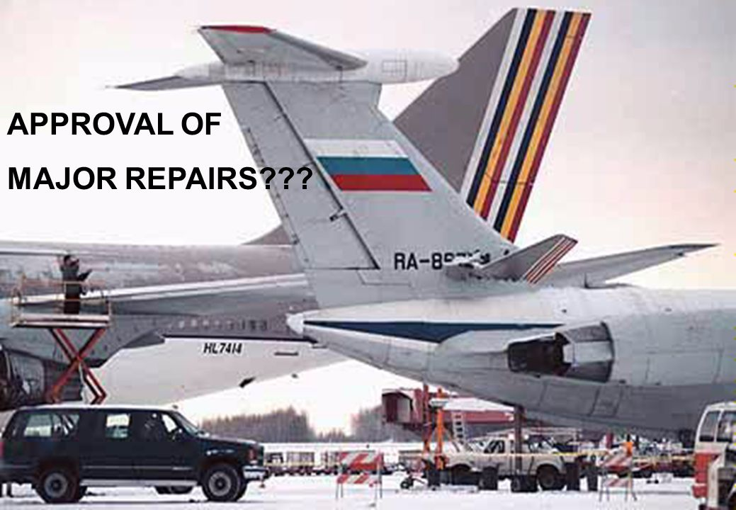 25 APPROVAL OF MAJOR REPAIRS???