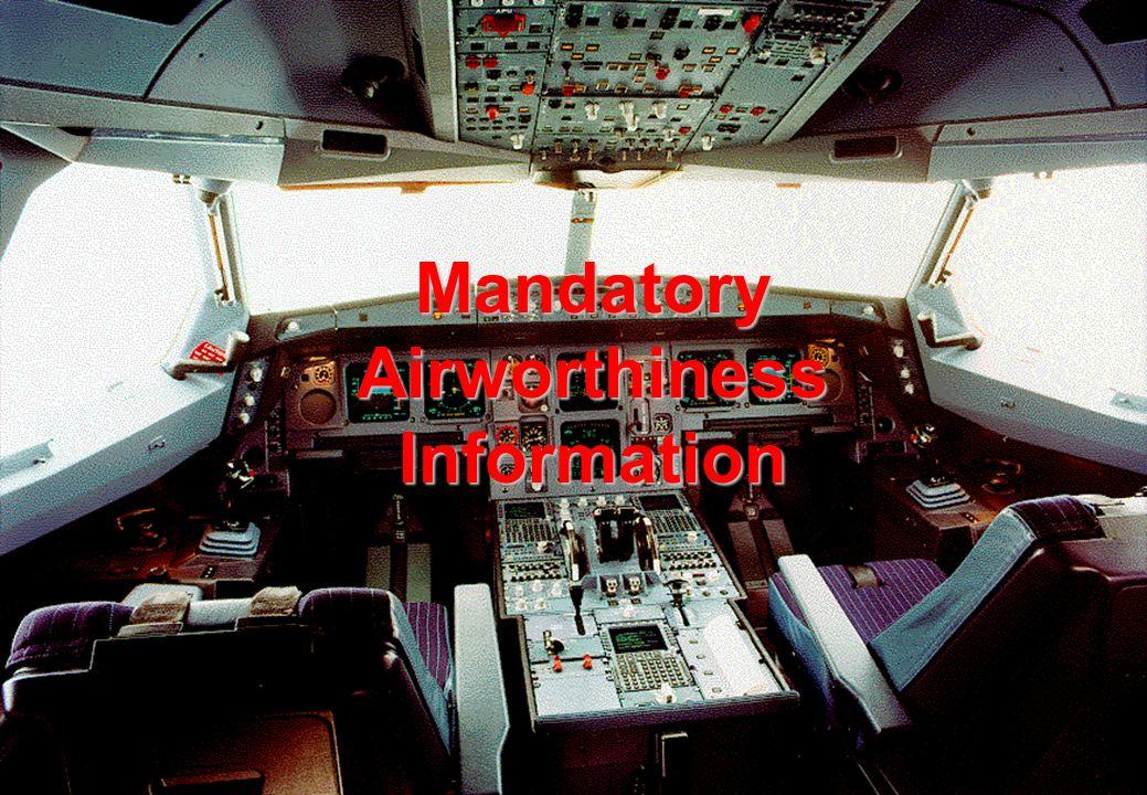 39 Mandatory Airworthiness Information
