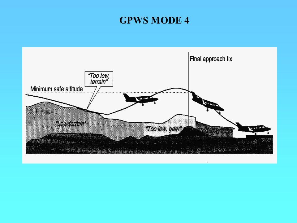 GPWS MODE 4