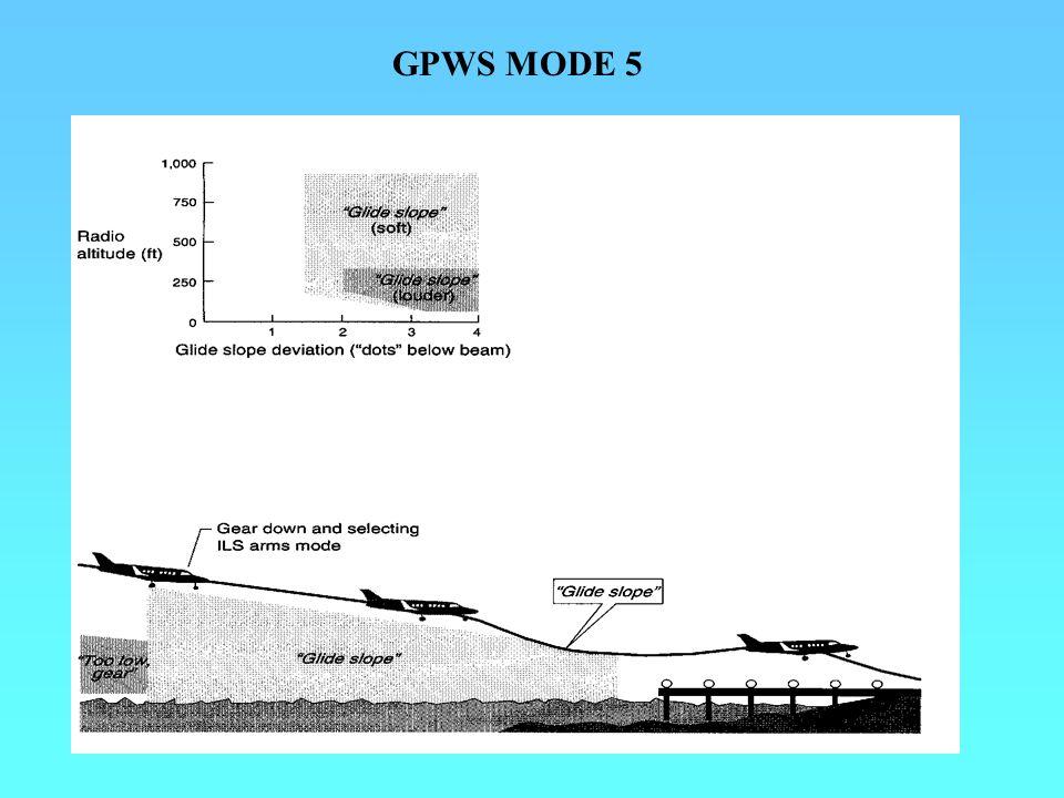 GPWS MODE 5
