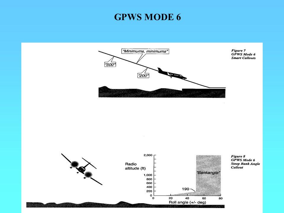 GPWS MODE 6
