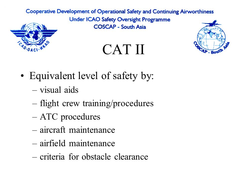 Aerodrome Requirements ILS Facility ILS Critical Area - aircraft/vehicles are excluded during all ILS operations because they will cause disturbances to ILS signal ILS Sensitive Area - area extending beyond the critical area where movement and/or parking of aircraft and vehicles is controlled to prevent the possibility ILS beam to be protected by longitudinal separation