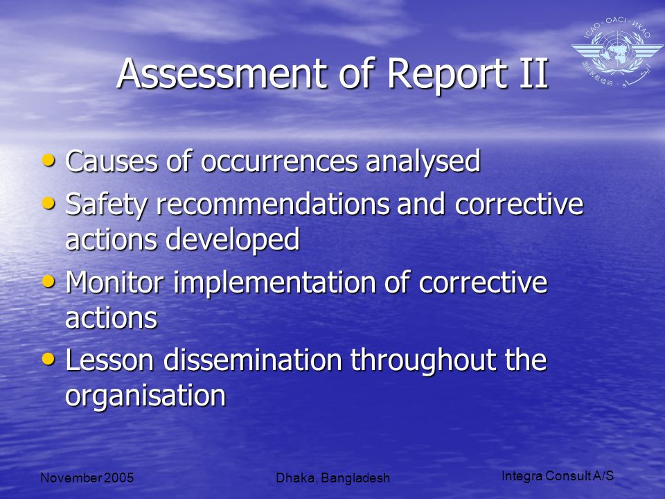 Integra Consult A/S November 2005Dhaka, Bangladesh Questions?