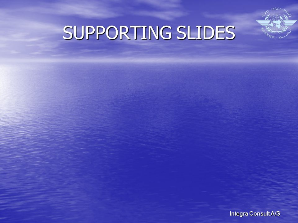 Integra Consult A/S SUPPORTING SLIDES