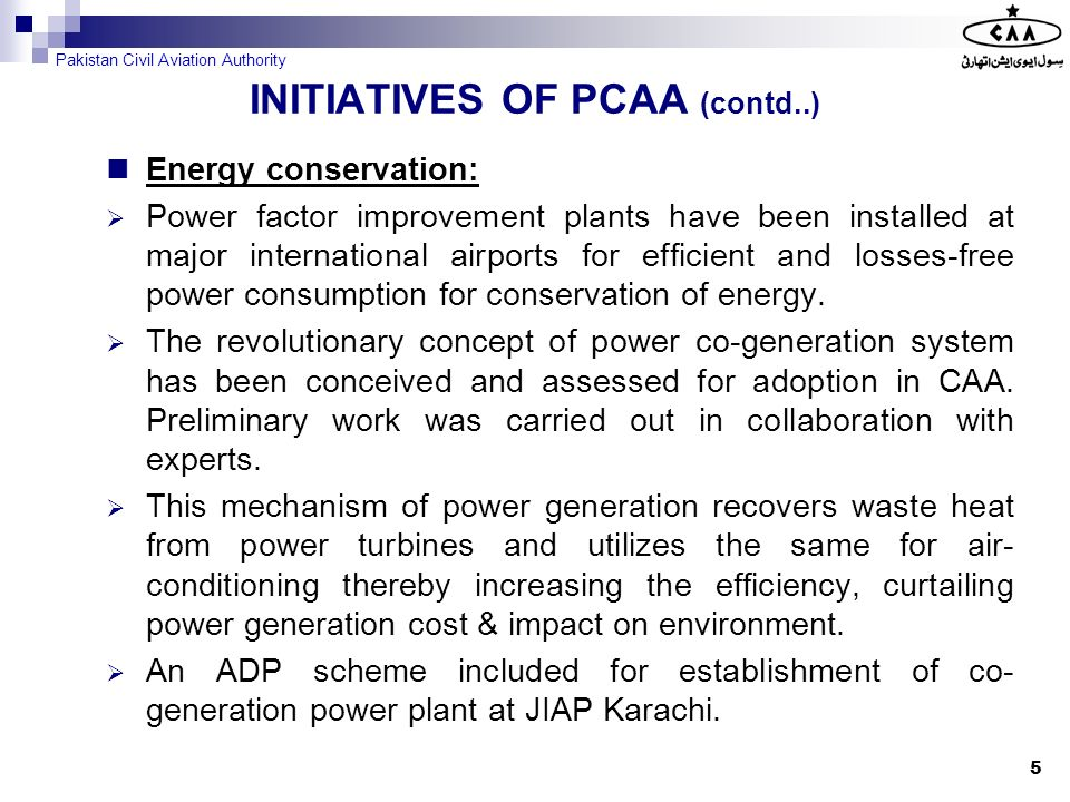 Energy conservation: Solar power aeronautical ground lighting systems for remote aerodromes is being planned.