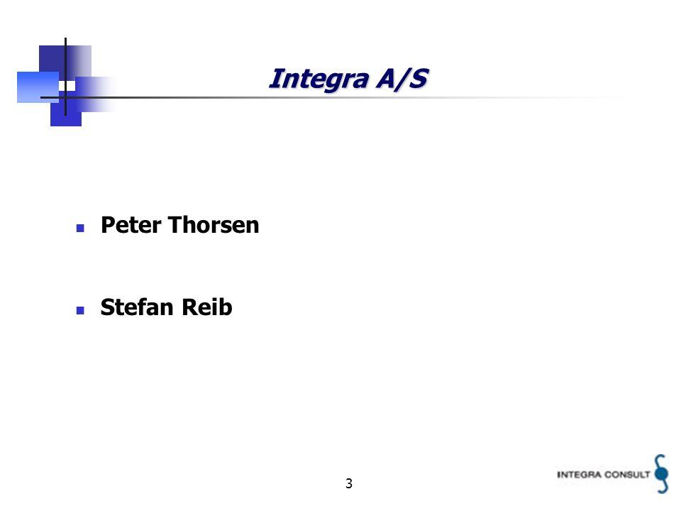 3 Integra A/S Peter Thorsen Stefan Reib